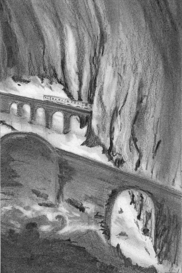 Atelier le gué, Dans les rochers, Christophe B. Munster