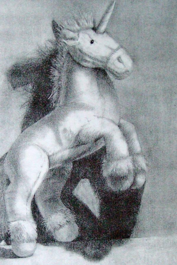 Atelier le gué, Licorne, Sylvain K. Muhlbach sur Munster