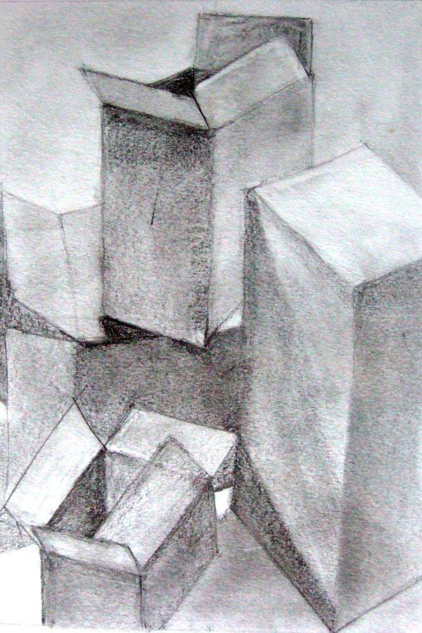 Atelier le gué, Cartons, Edmée H. Turckheim