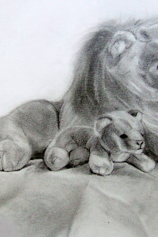 Atelier le gué, Lions, Florian H. Munster